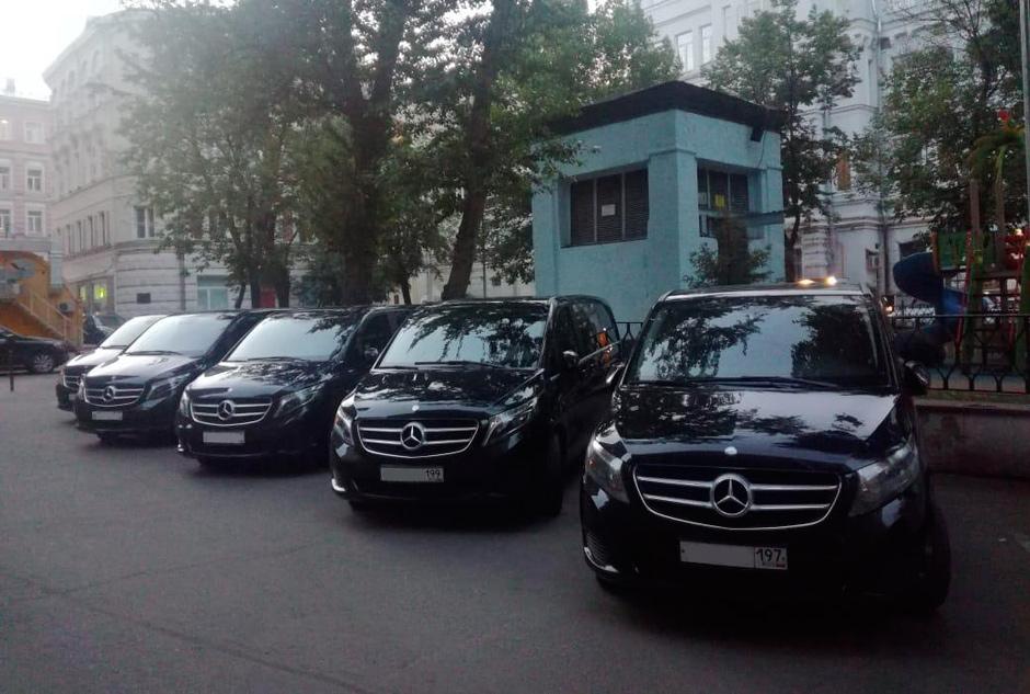 такси Мерседес V-класса