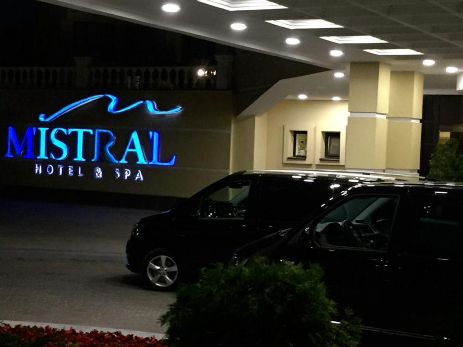 Корпоративные перевозки в отель