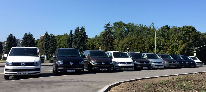 автопарк автомобилей минивен уже спешит в Кунцево