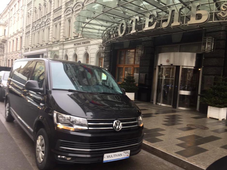 доставка VIP гостей в отель